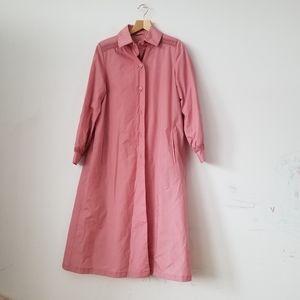 Vtg. ILGWU Union Label Light Pink Coat, 7/8